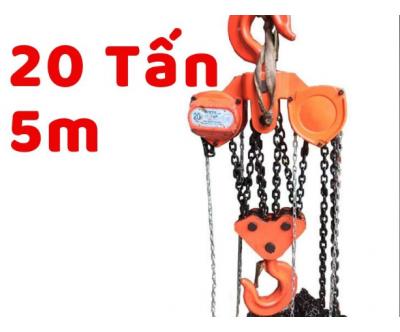 Pa lăng xích kéo tay Nitto 20 tấn 5 mét
