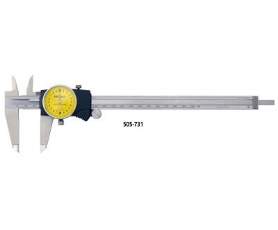 Thước cặp đồng hồ 505-731 (0-200mm/0.02mm)