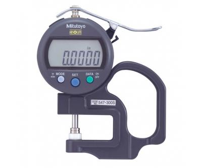 Thước đo độ dày điện tử 547-300S (0-10mm/0.01mm)