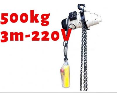 Pa lăng xích điện KENBO CH500 500kg 1 pha