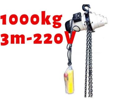 Pa lăng xích điện KENBO CH1000 1000kg 1 pha